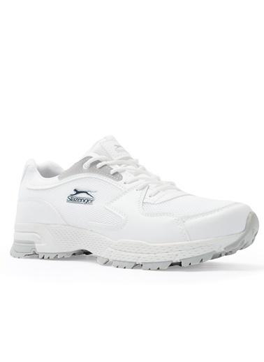 Slazenger Slazenger ADVA Koşu & Yürüyüş Erkek Ayakkabı  Beyaz
